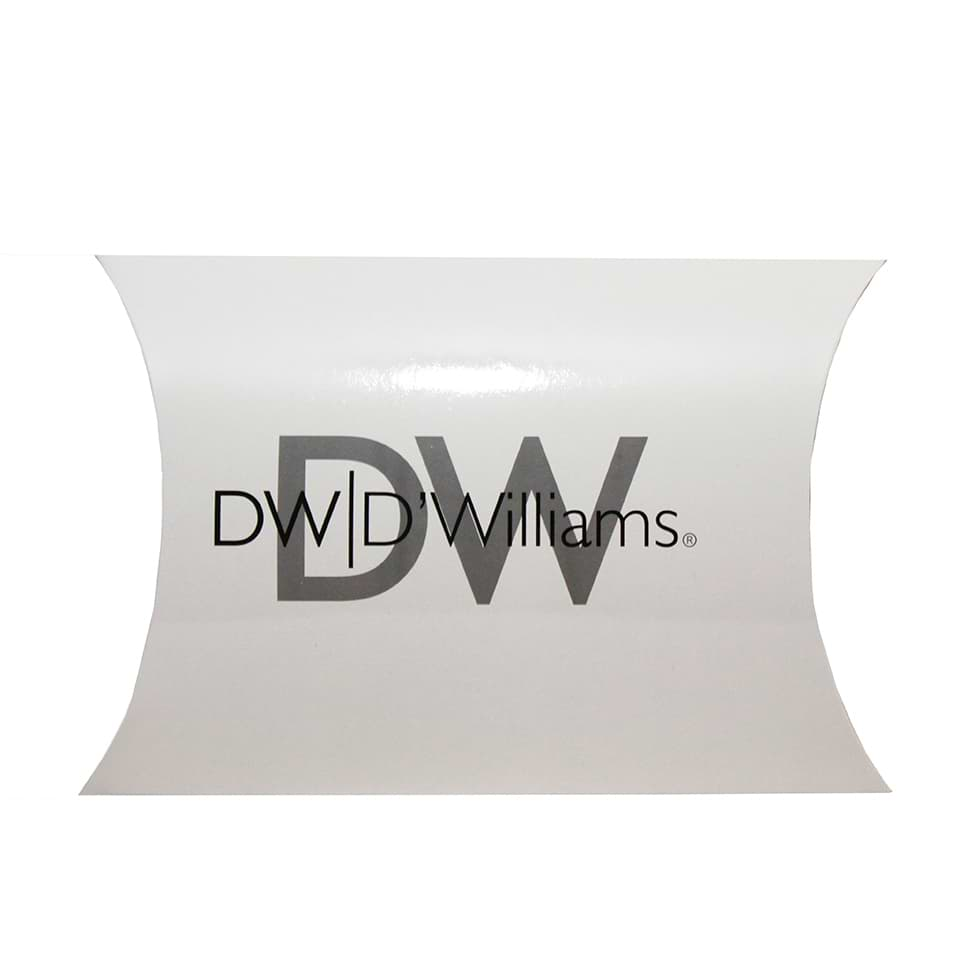 Pillow gift box for DW Williams brand