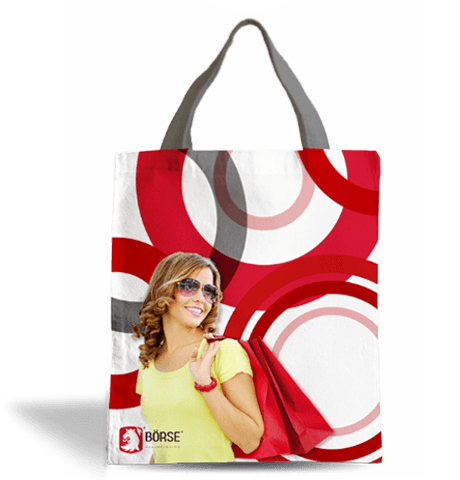 A Non-Woven Fabric Shopping Bag Sample