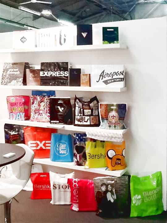 BÖRSE Shopping Bags Exhibition Area at New York Now  Expo