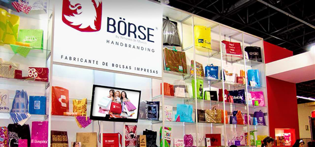Innovative shopping bags for expos