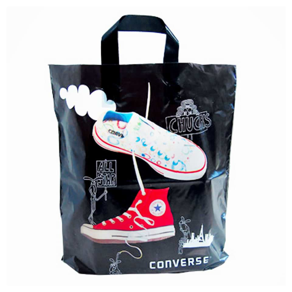 Plastic Shopping Bag used by Converse