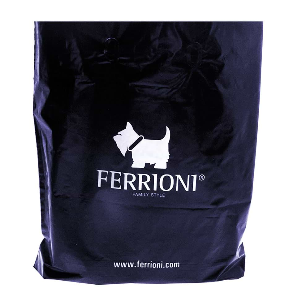 Plastic Shopping Bag used by Ferrioni®